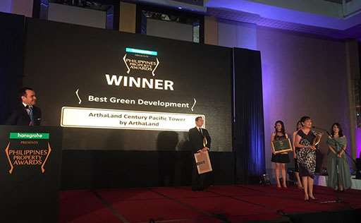 ArthaLand Century Pacific Tower Named PH's Best Green Office Development