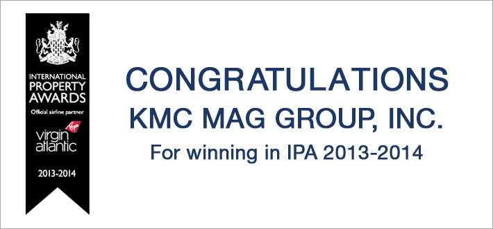 KMC MAG Group, Inc. Wins A Prestigious Asia Pacific Property Award