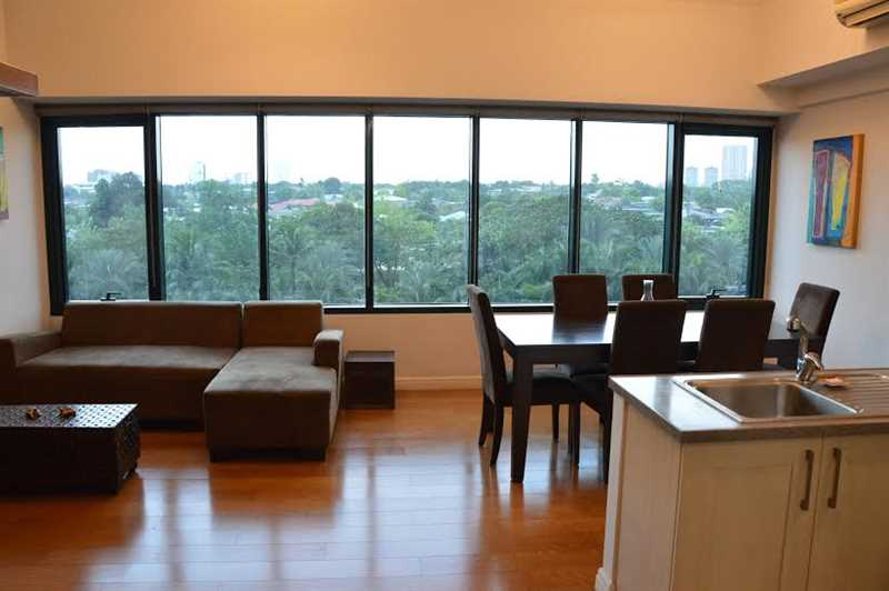 2 Bedroom Loft Type Unit For Lease at One Rockwell-East Tower, Makati City