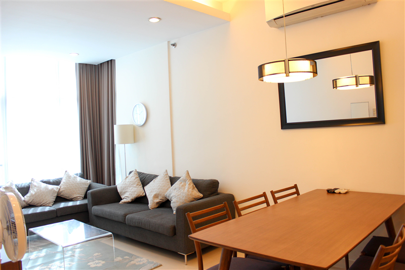 2 Bedroom Condo for Lease in Sapphire Residences, Bonifacio