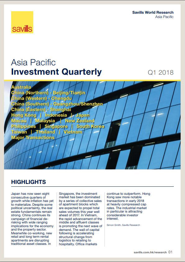 Asia Pacific Investment Quarterly Q1 2018