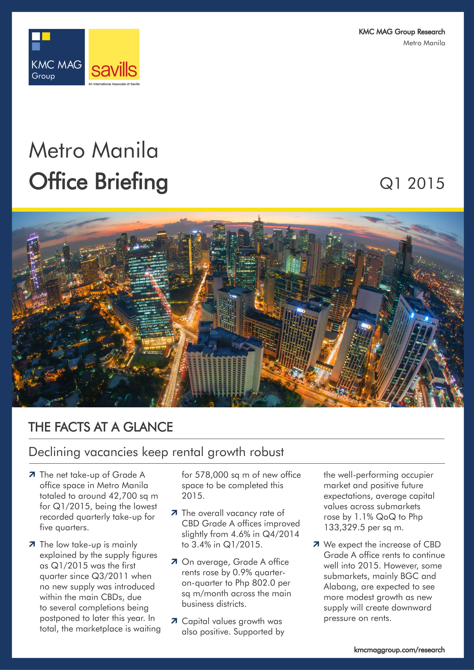 Metro Manila Office Briefing Q1 2015