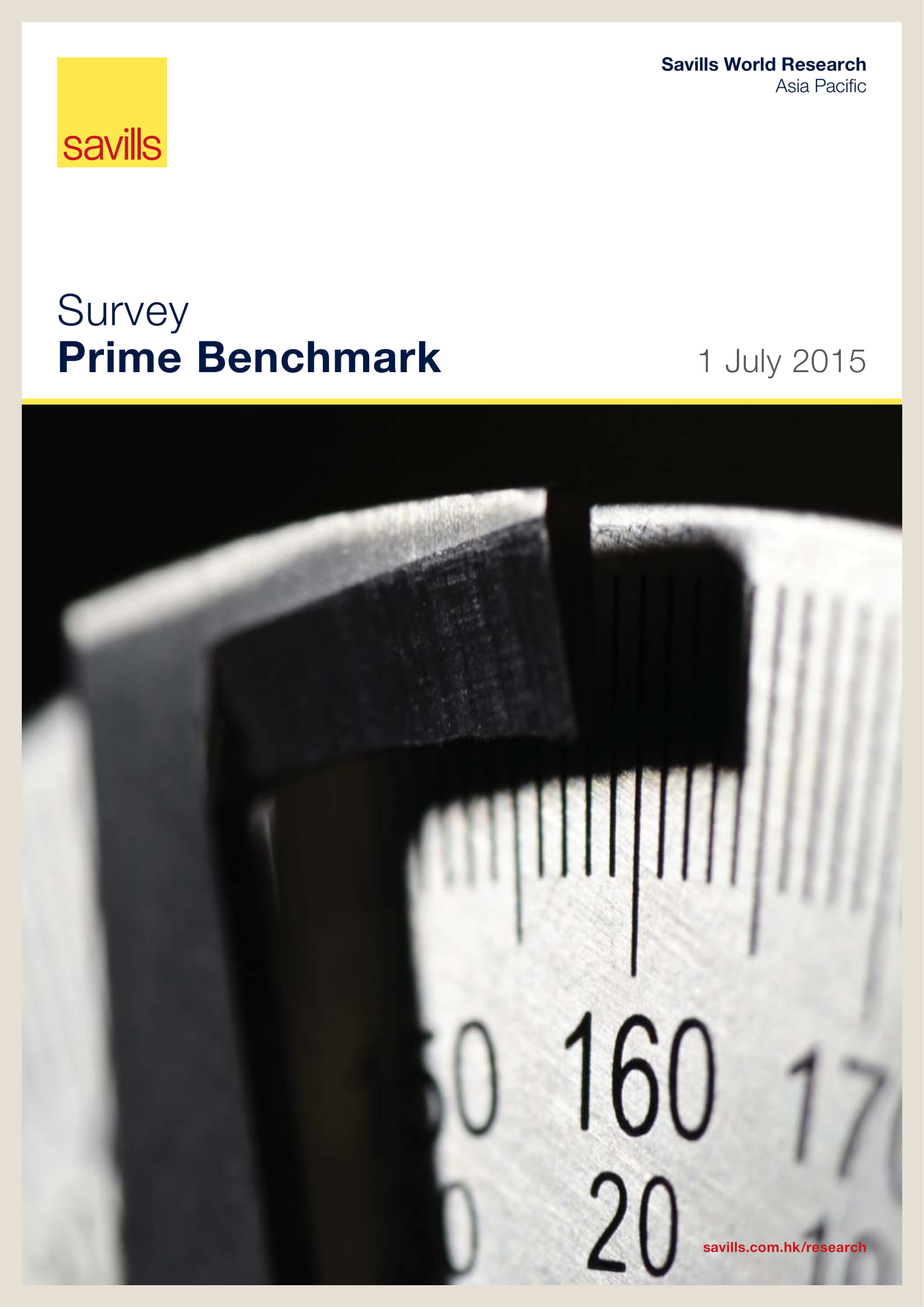 Survey Prime Benchmark 1 July 2015