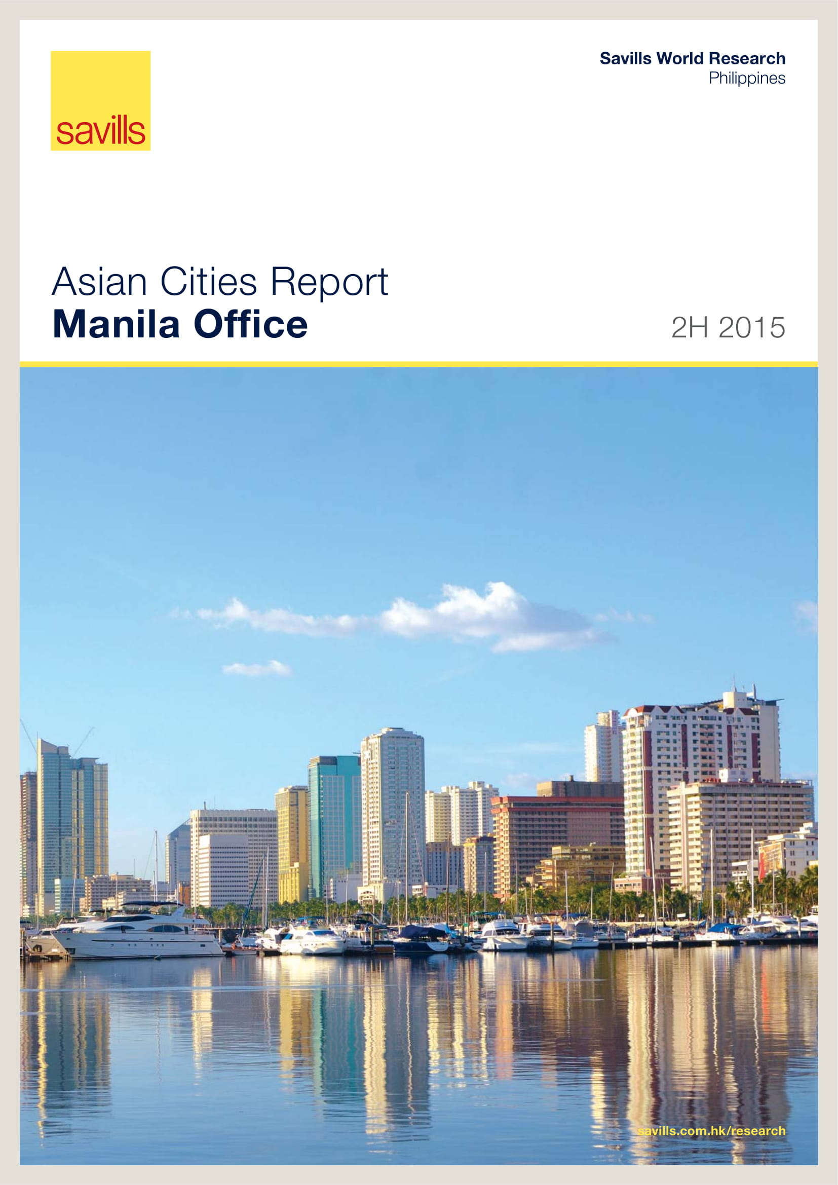 Asian Cities Report Manila Office 2H 2015