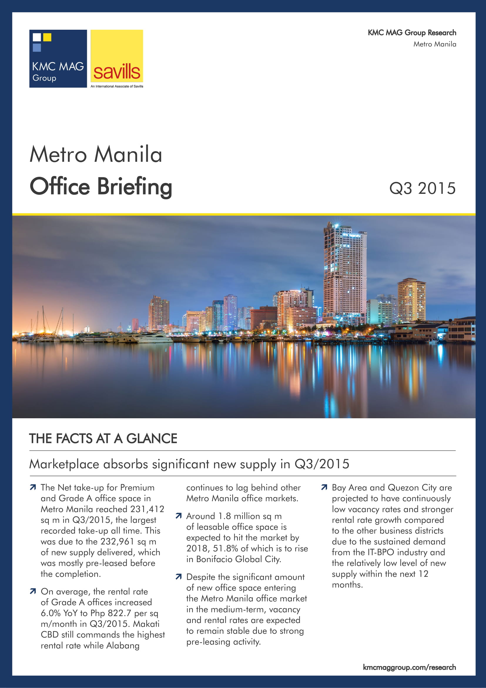 Metro Manila Office Briefing Q3 2015
