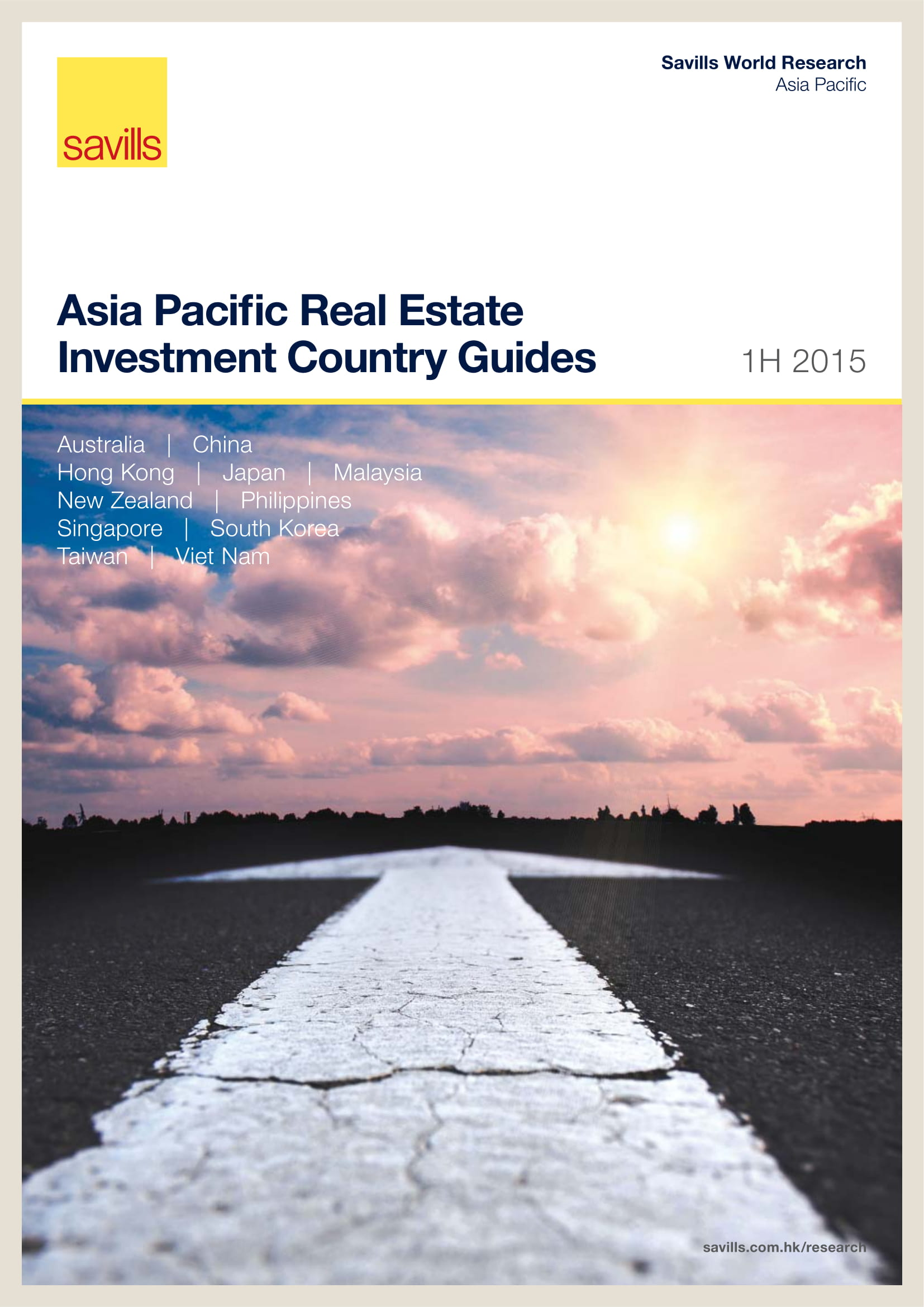 Asia Pacific Real Estate Investment Country Guides 1H 2015
