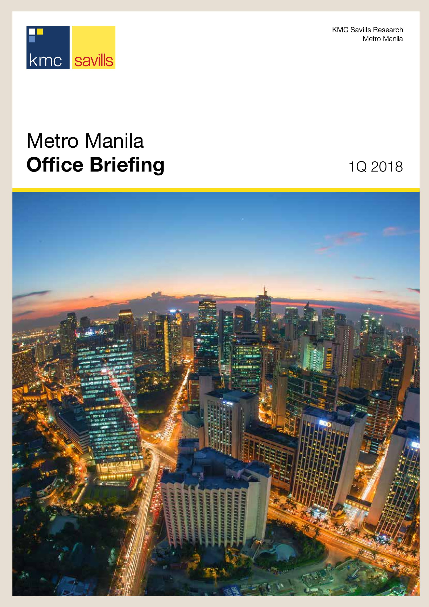 Metro Manila Office Briefing 1Q 2018