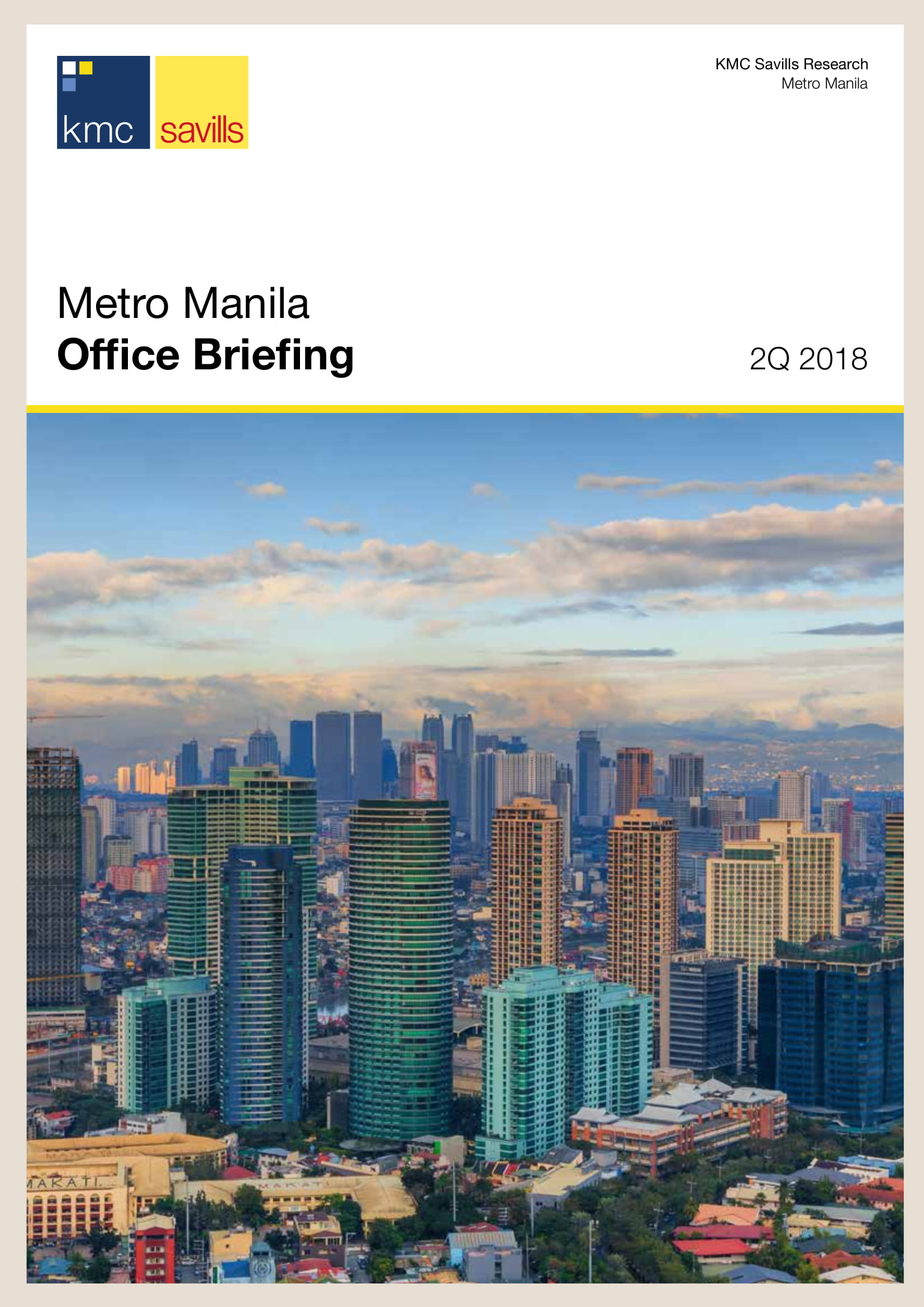 Metro Manila Office Briefing 2Q 2018