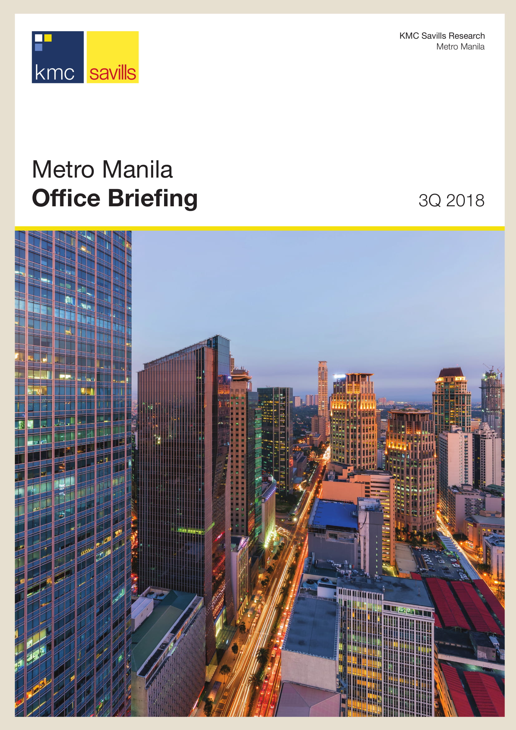 Metro Manila Office Briefing 3Q 2018