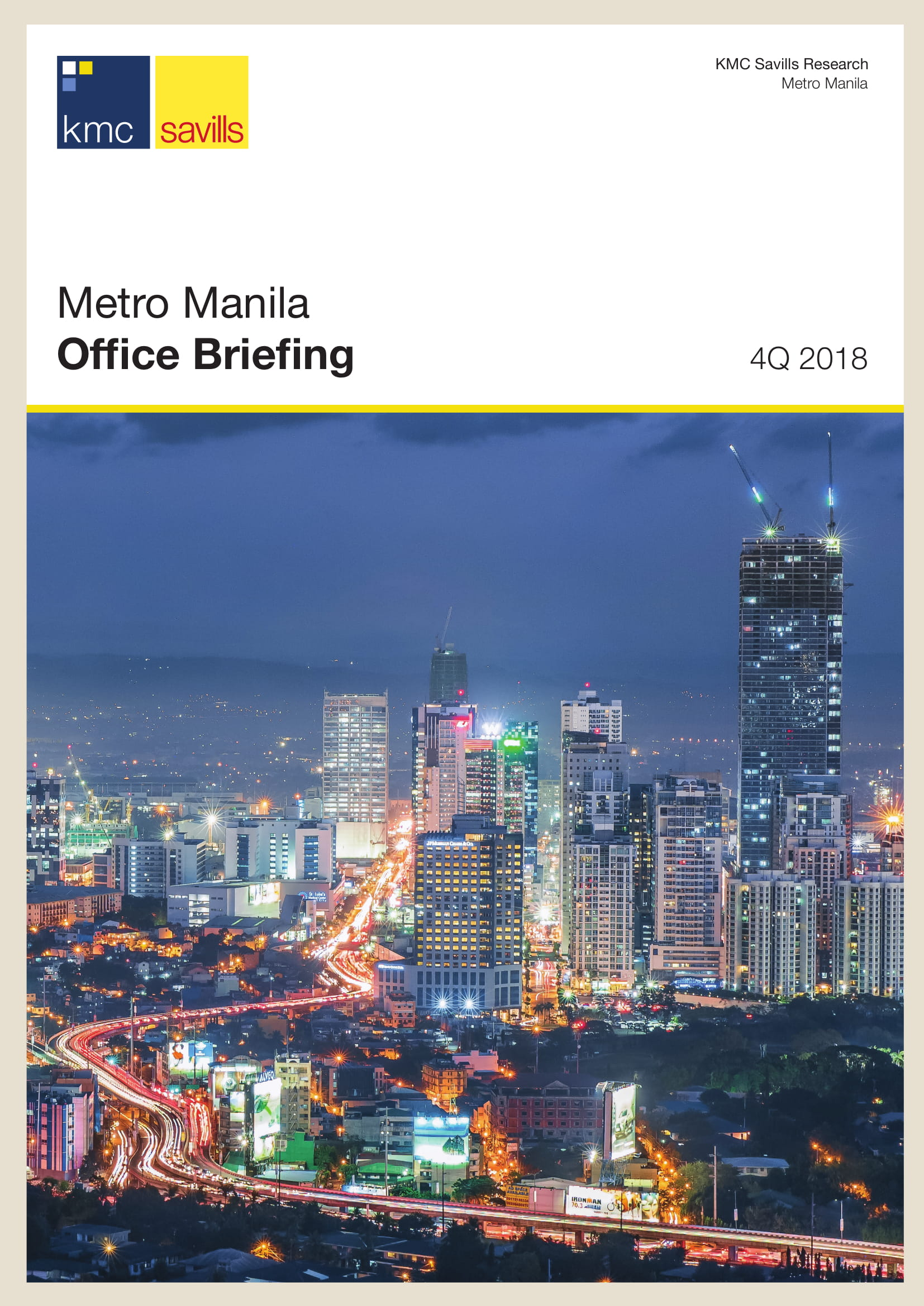 Metro Manila Office Briefing 4Q 2018