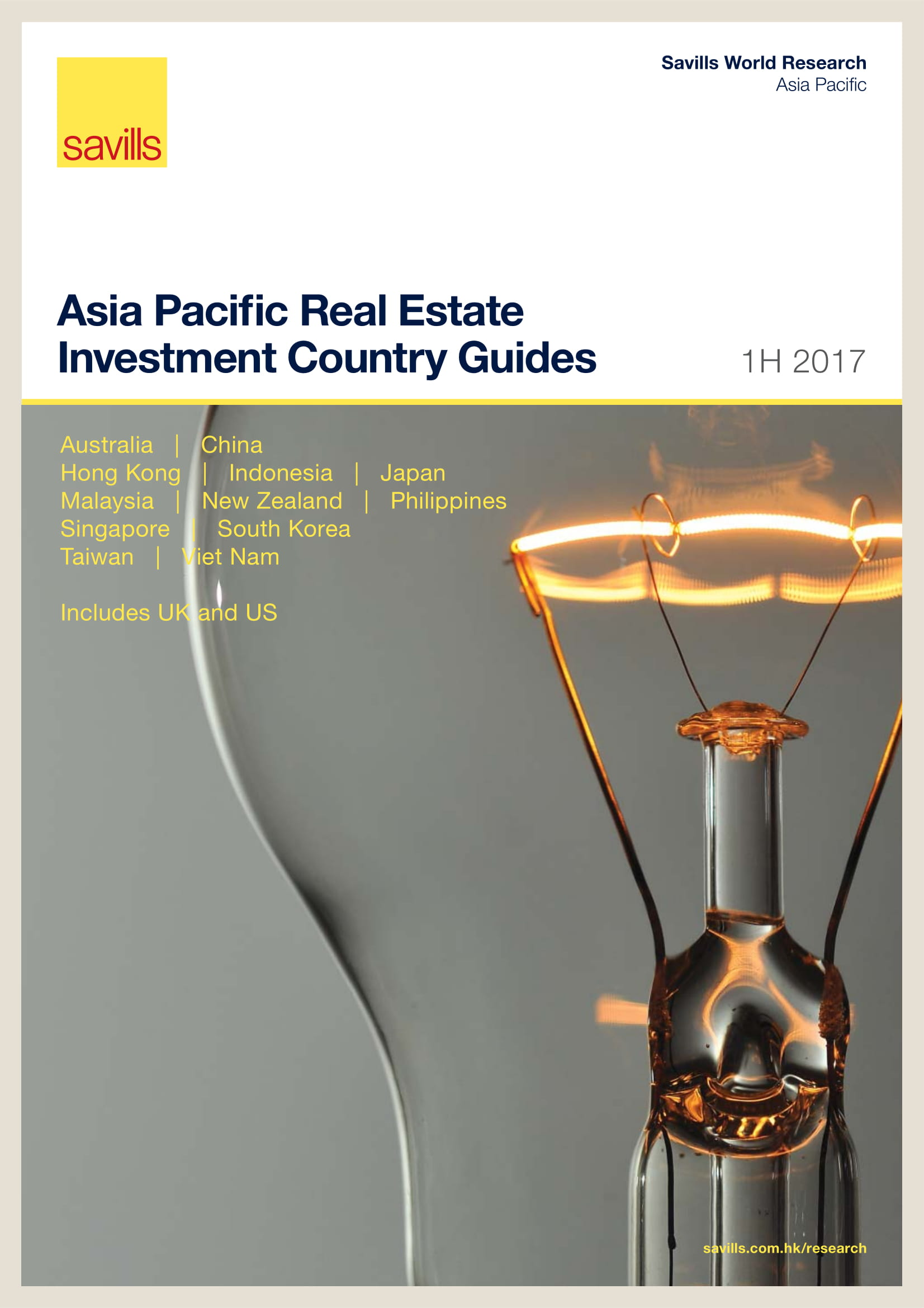 Asia Pacific Real Estate Investment Country Guides 1H 2017