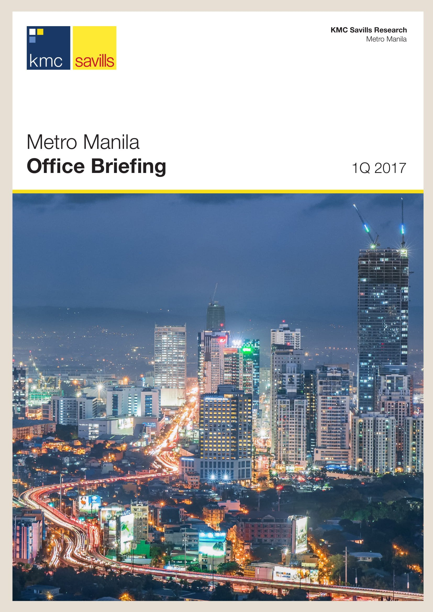 Metro Manila Office Briefing 1Q 2017