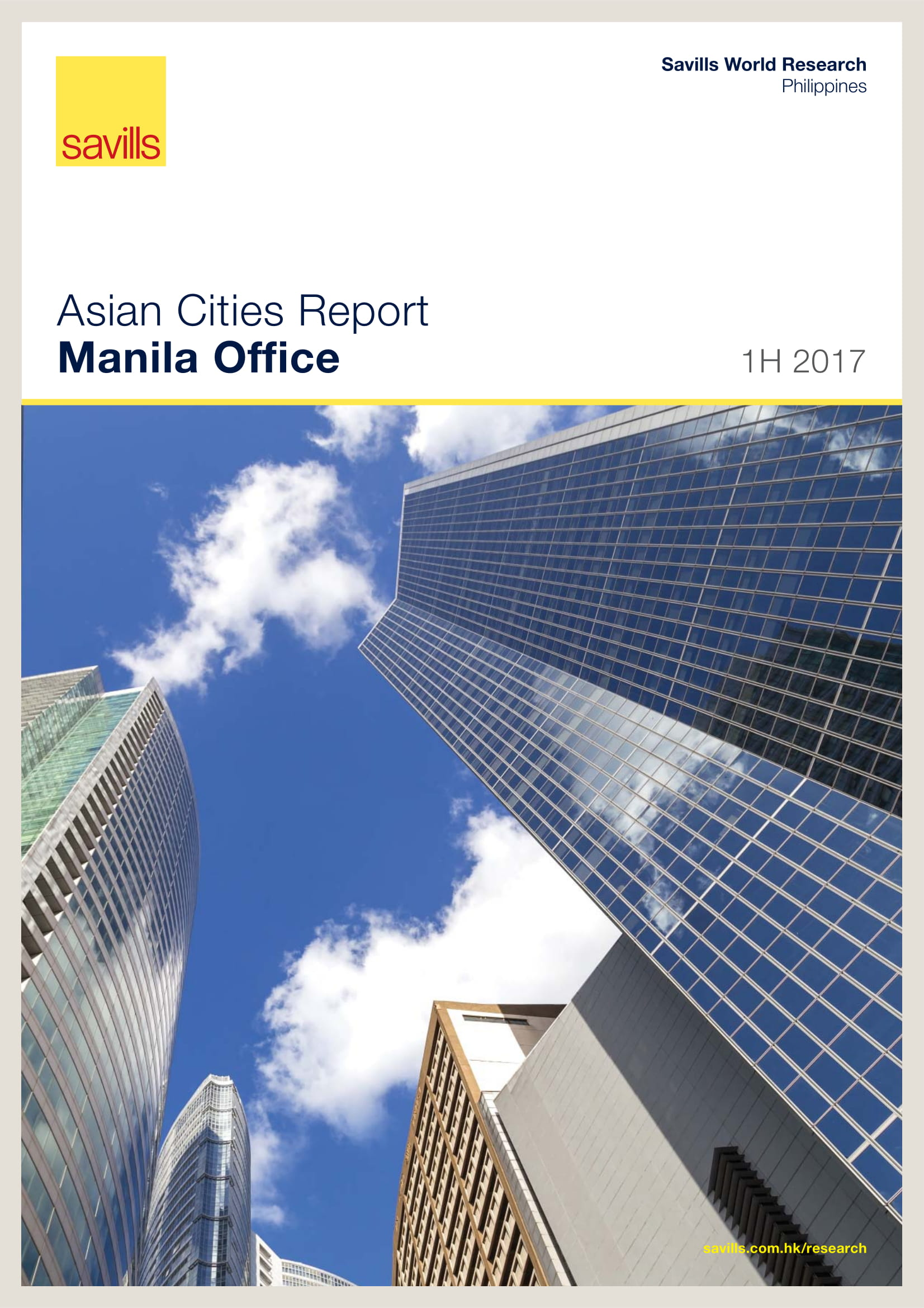 Asian Cities Report Manila Office 1H 2017