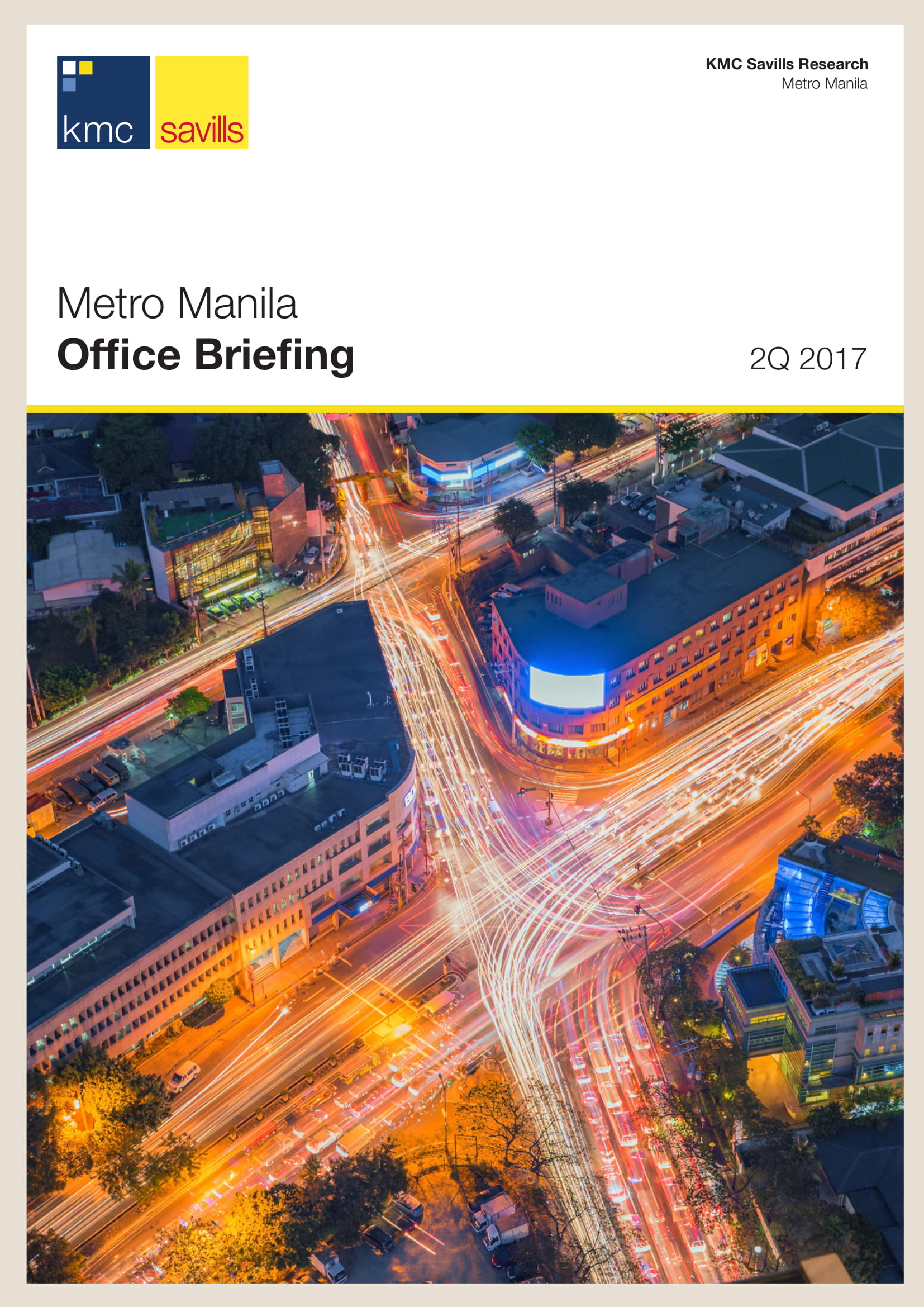 Metro Manila Office Briefing 2Q 2017
