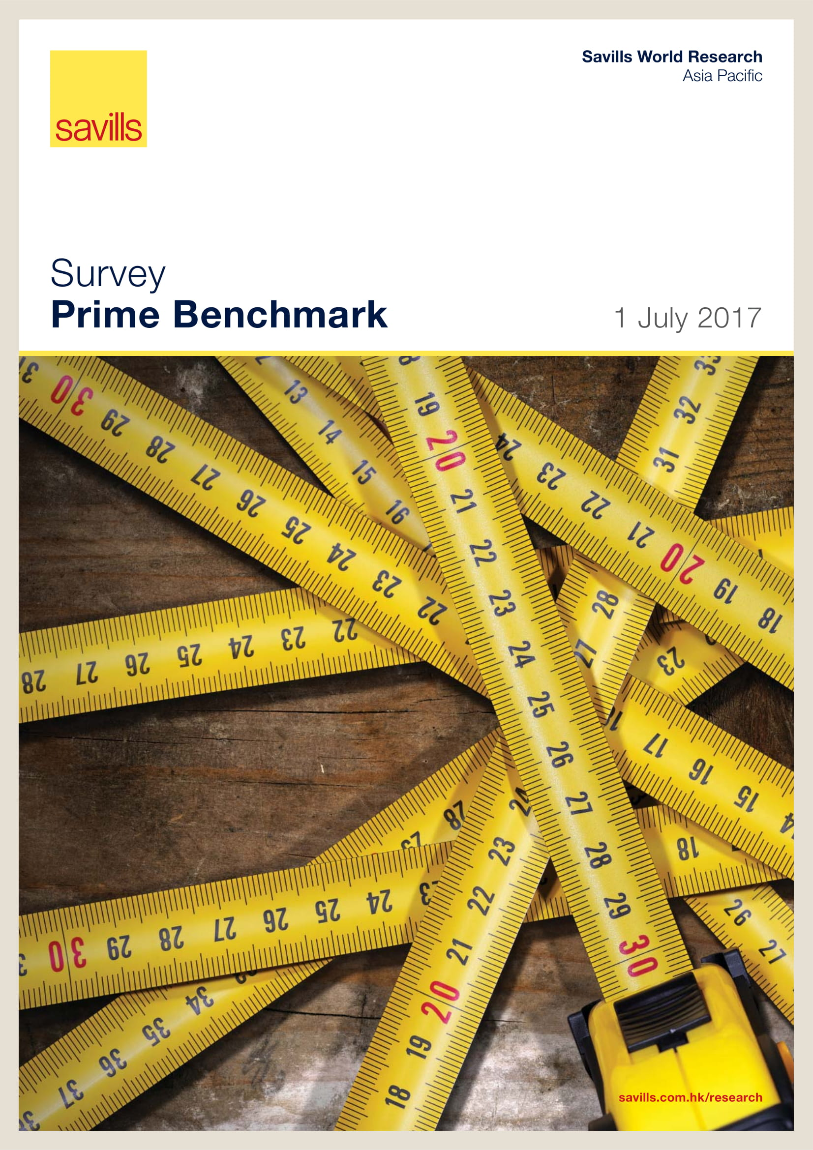 Survey Prime Benchmark 1 July 2017