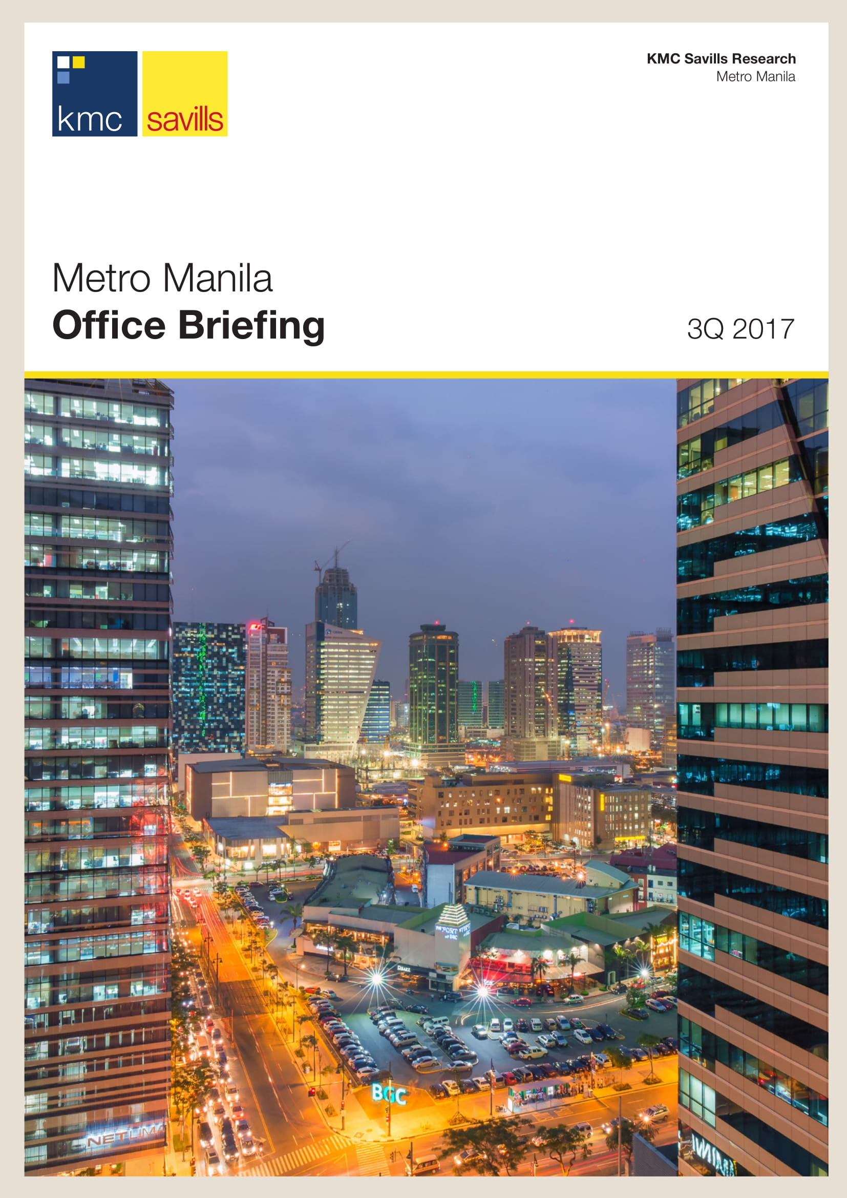 Metro Manila Office Briefing 3Q 2017