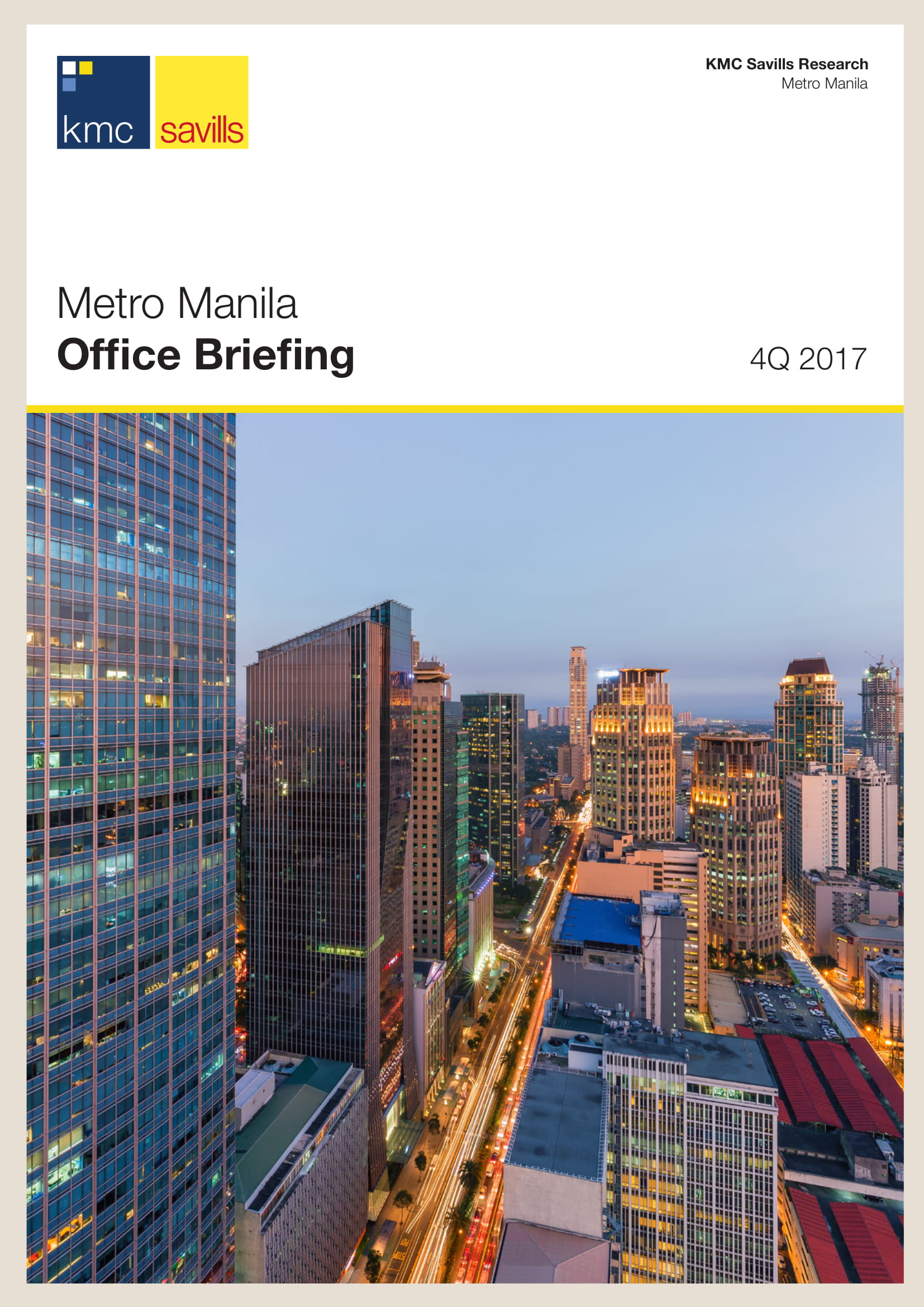 Metro Manila Office Briefing 4Q 2017