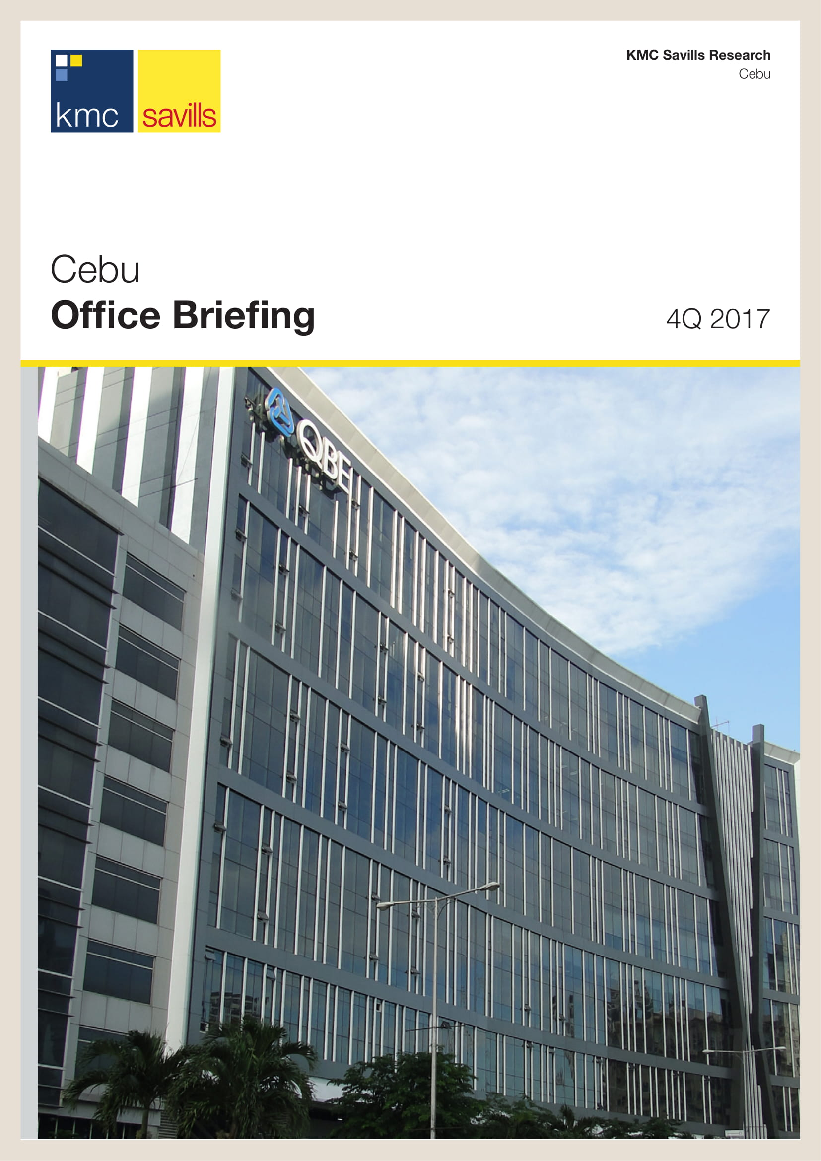 Cebu Office Briefing 4Q 2017