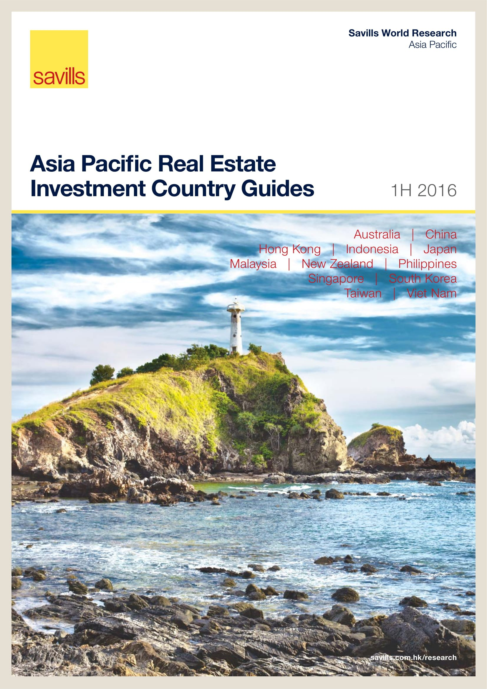 Asia Pacific Real Estate Investment Country Guides 1H 2016