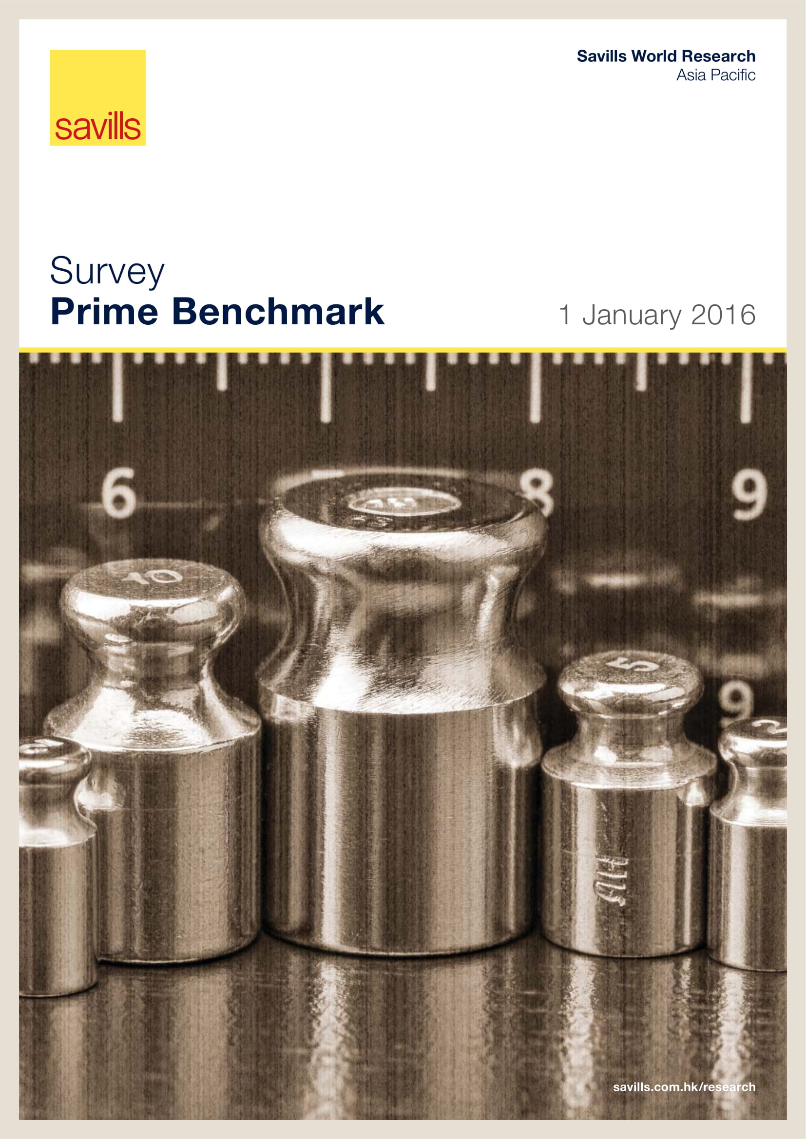 Survey Prime Benchmark 1 January 2016