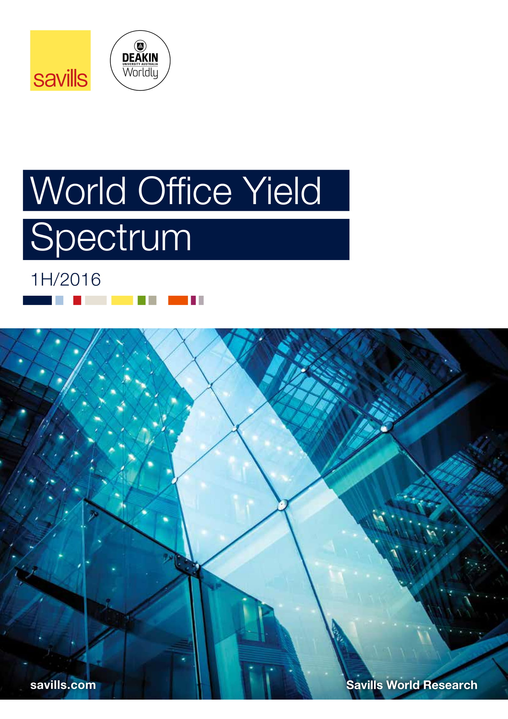 World Office Yield Spectrum 1H 2016