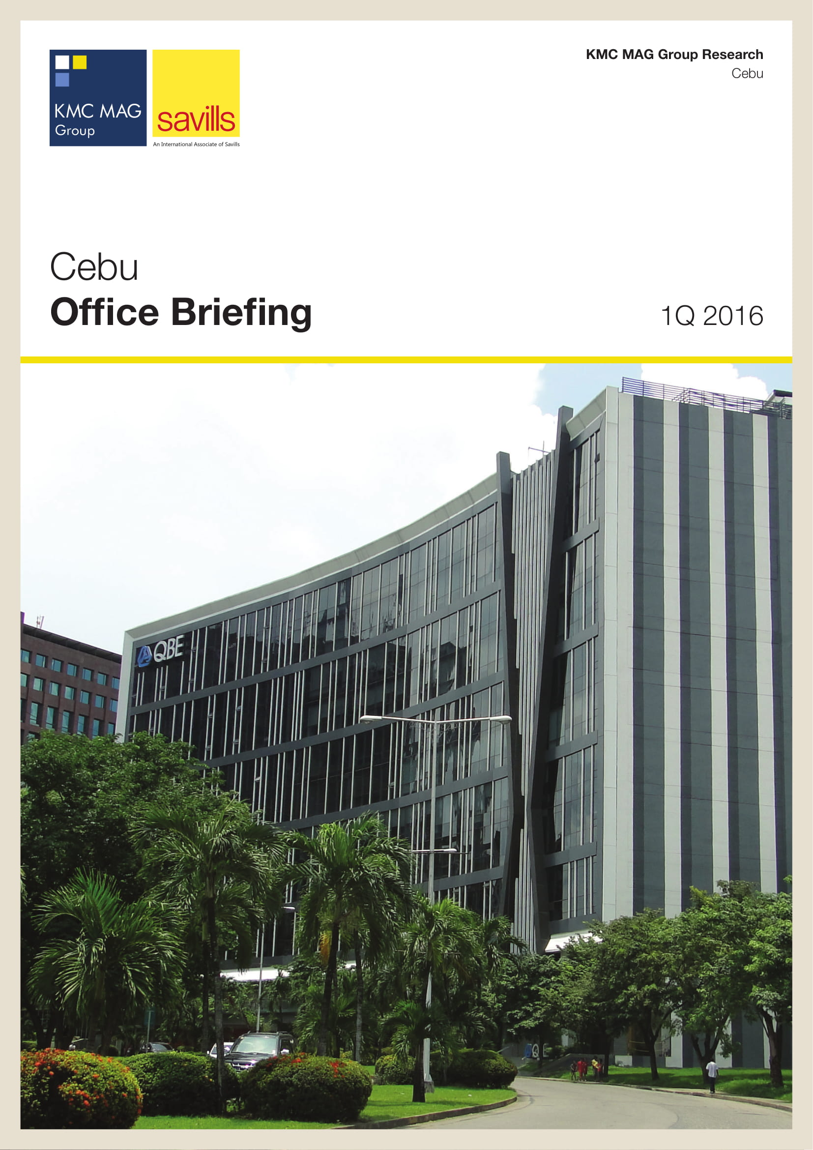 Cebu Office Briefing 1Q 2016