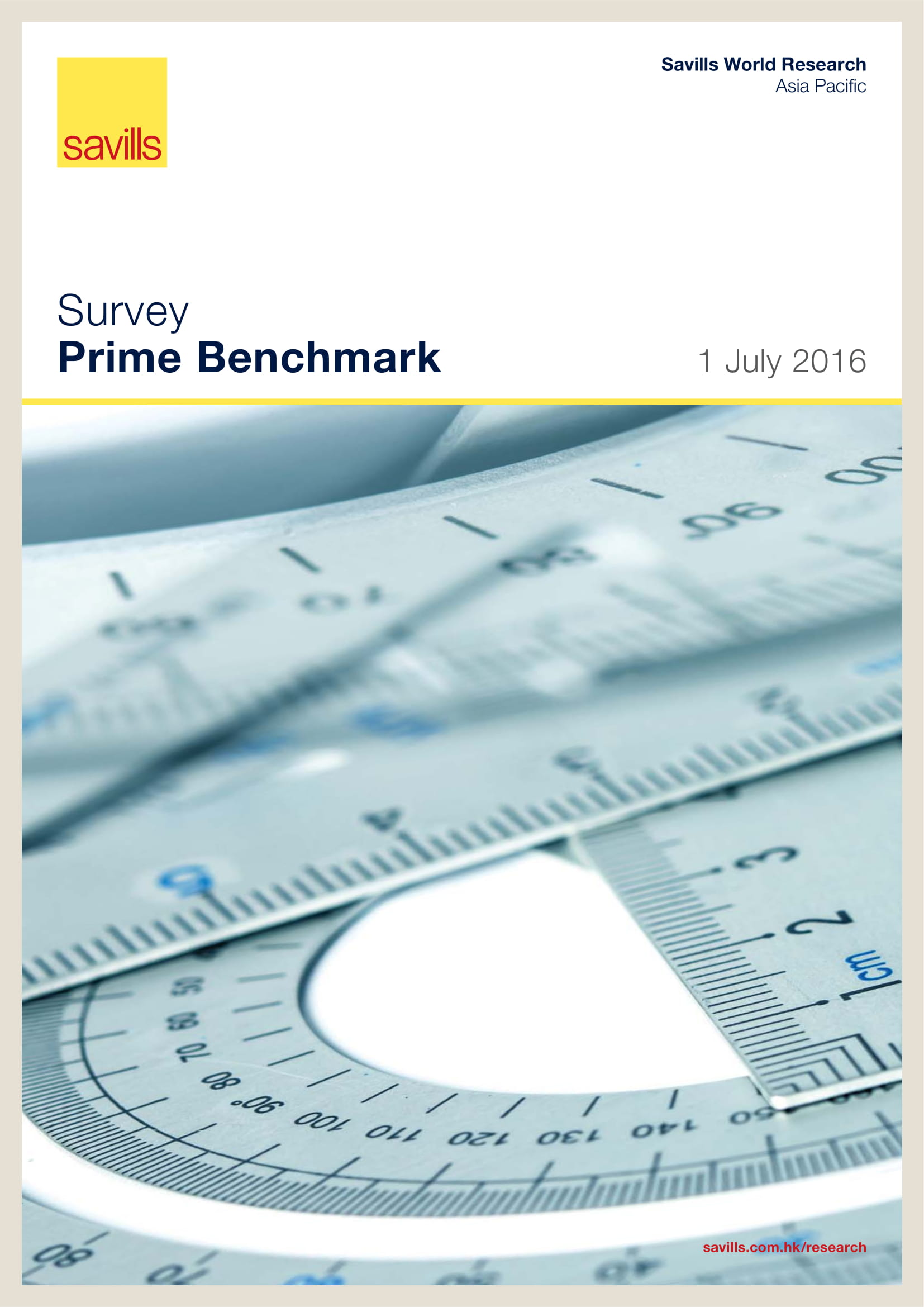 Survey Prime Benchmark 1 July 2016