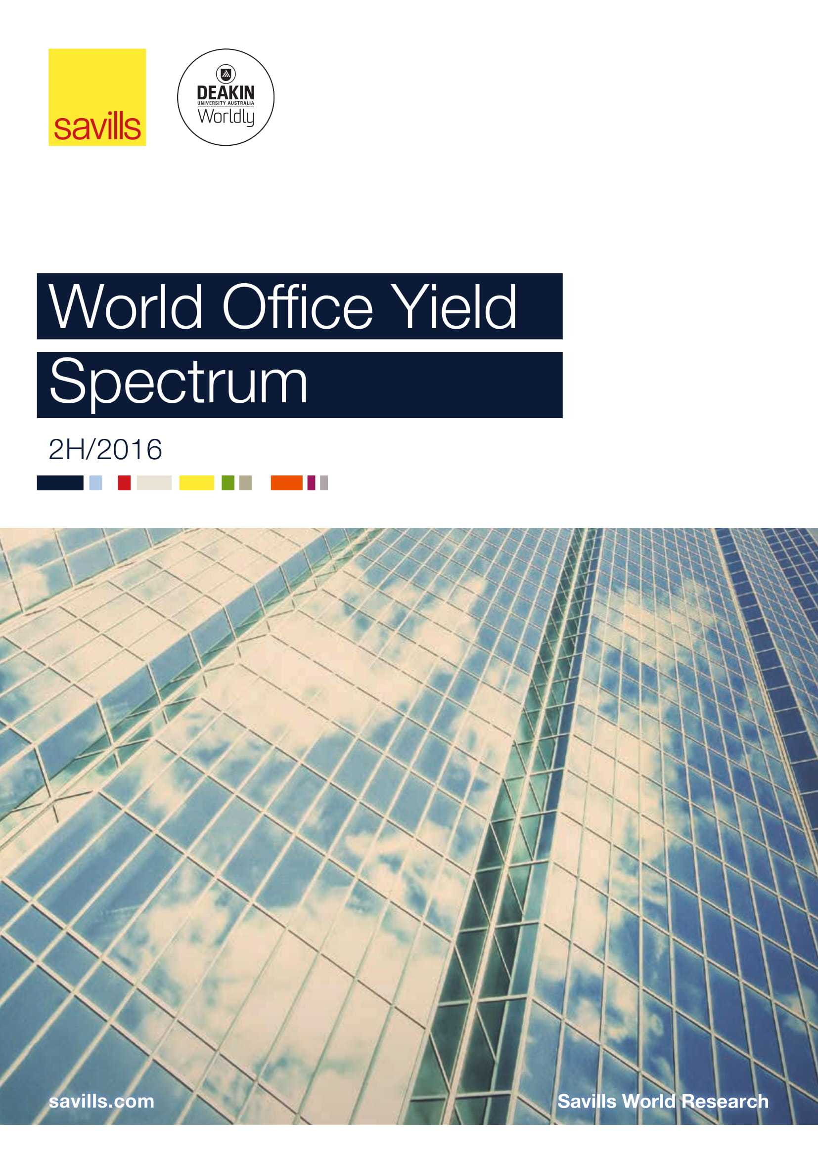 World Office Yield Spectrum 2H 2016