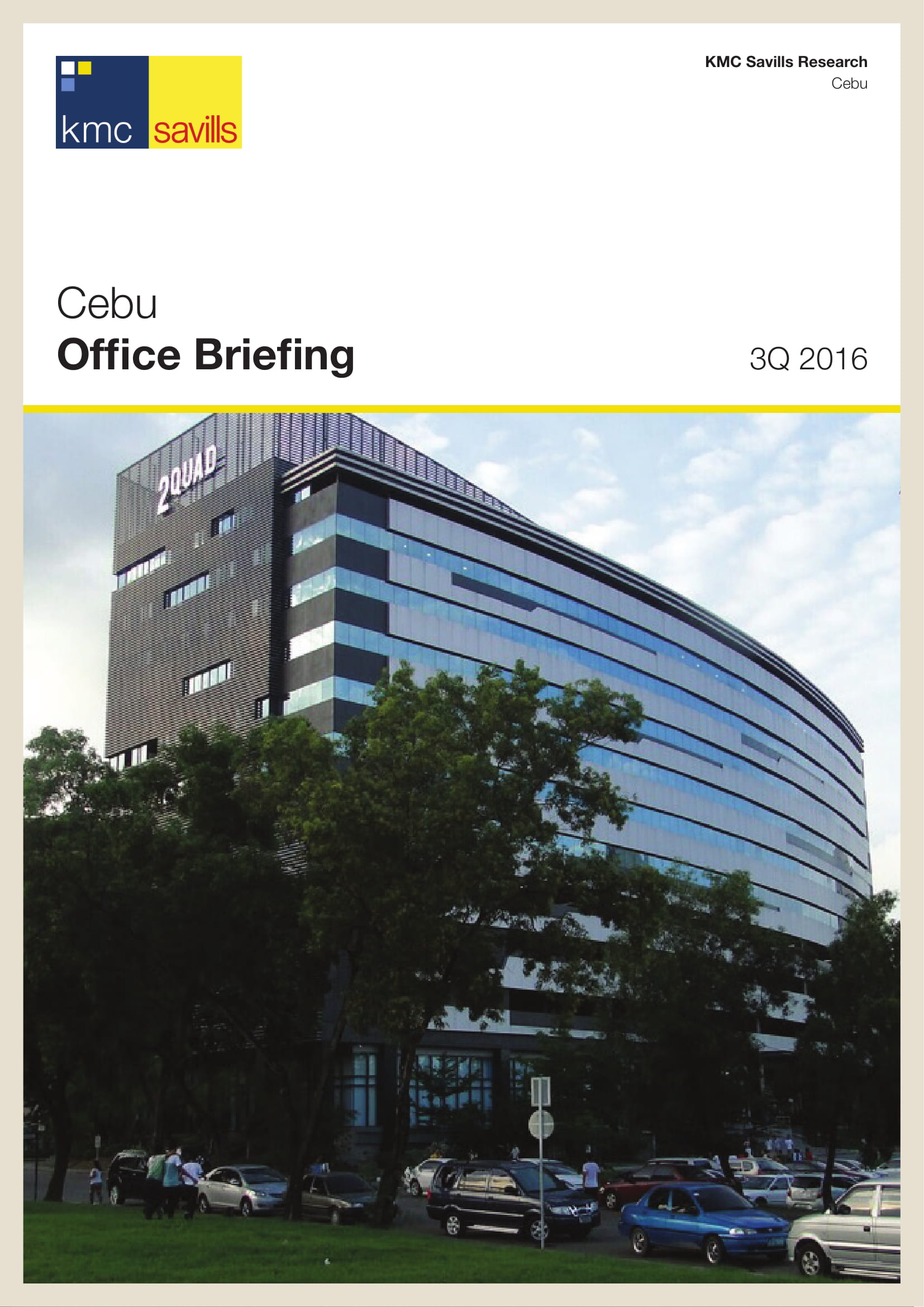 Cebu Office Briefing 3Q 2016