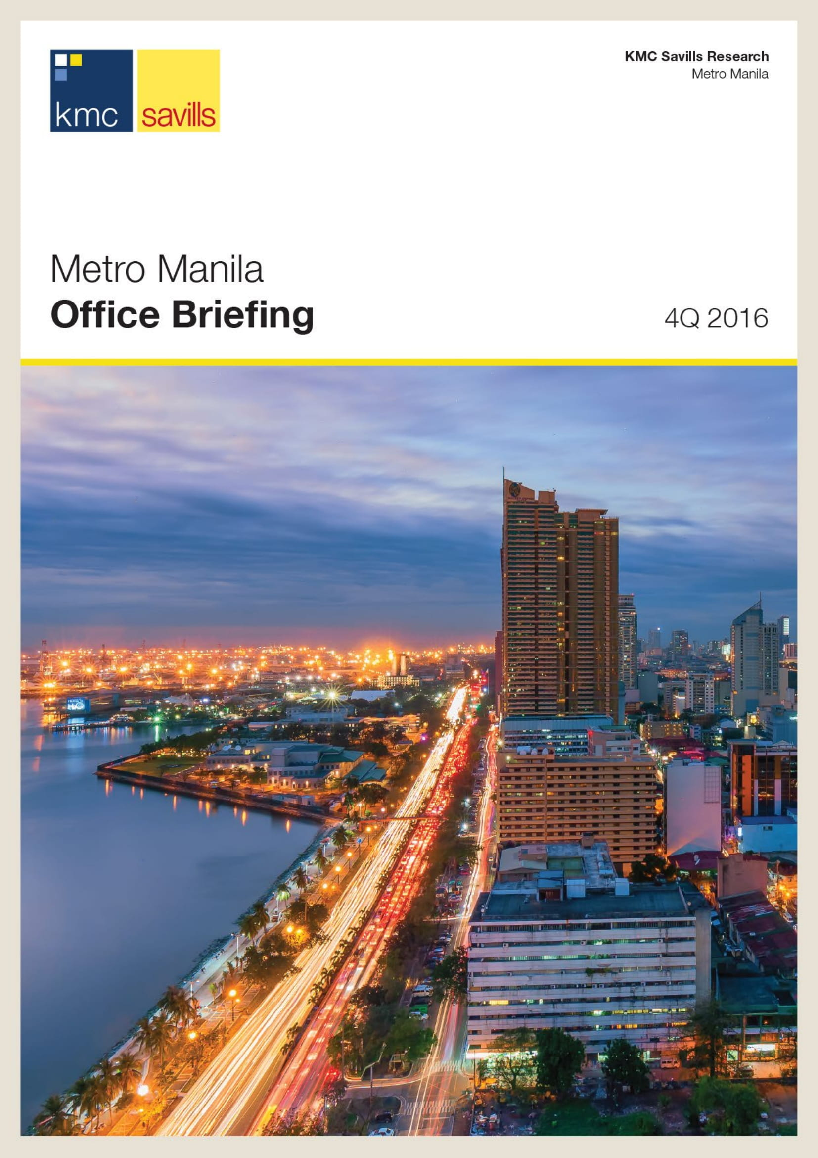 Metro Manila Office Briefing 4Q 2016