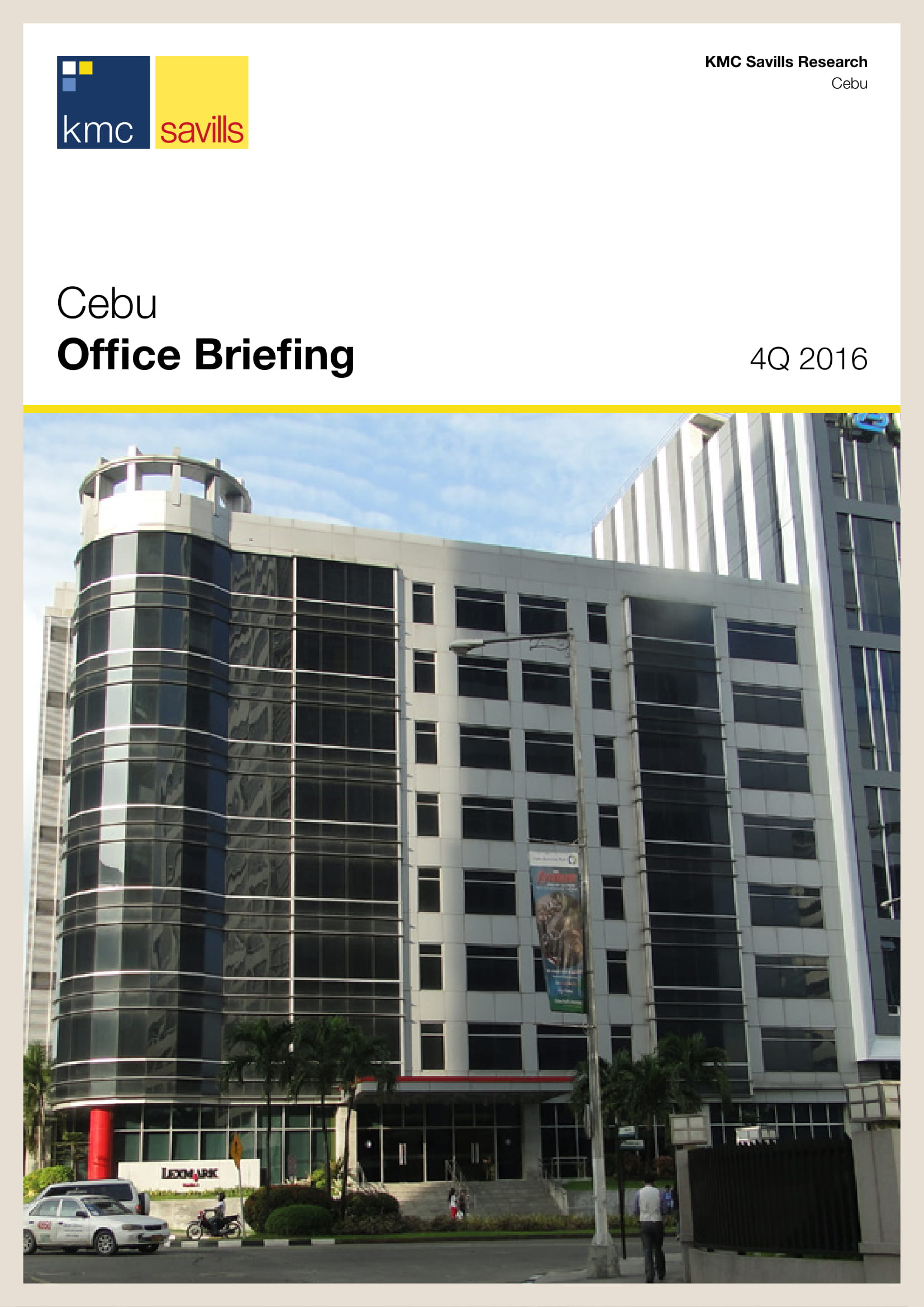 Cebu Office Briefing 4Q 2016